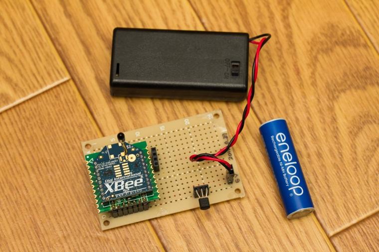 ワイヤレス温度計の回路