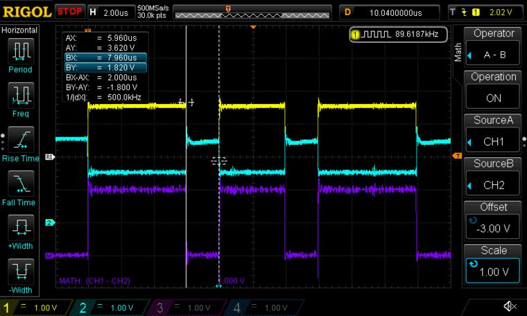 MCP2515 の CAN 波形
