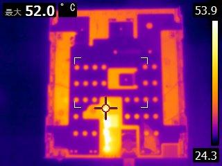 WXL302の温度分布