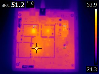 WXL202の温度分布