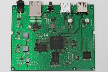 DS-600 の基板(表)