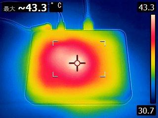 DS-600 の発熱状況