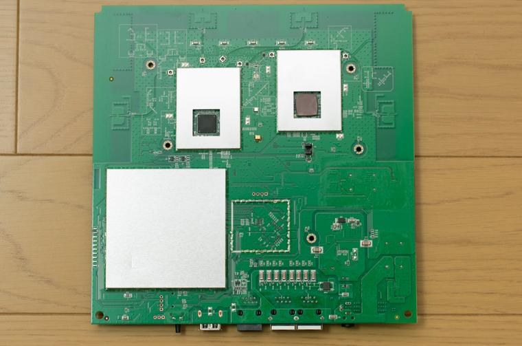 WLX402 の基板(裏面)