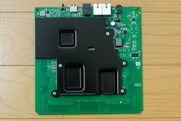 WLX402 の放熱板